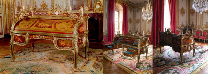 m dailler de gaudreau versailles mobiliers et objets xvii xix me siecle pinterest. Black Bedroom Furniture Sets. Home Design Ideas